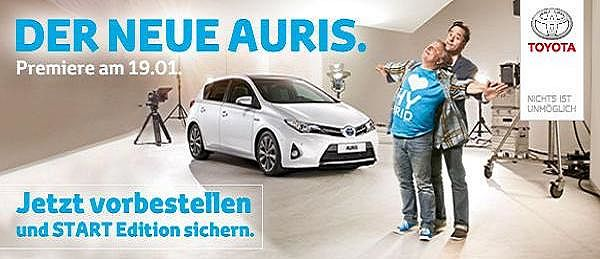 Der neue Auris. Die Alternative.